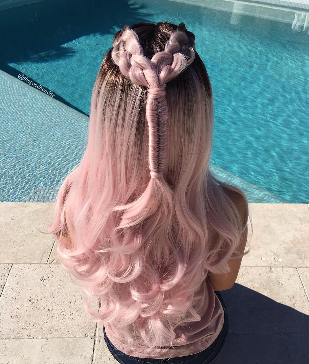 Прически из искусственных волос